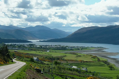 Ullapool from North